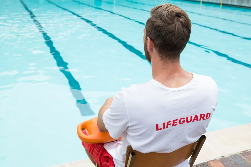 lifeguard is a good part time job for college students