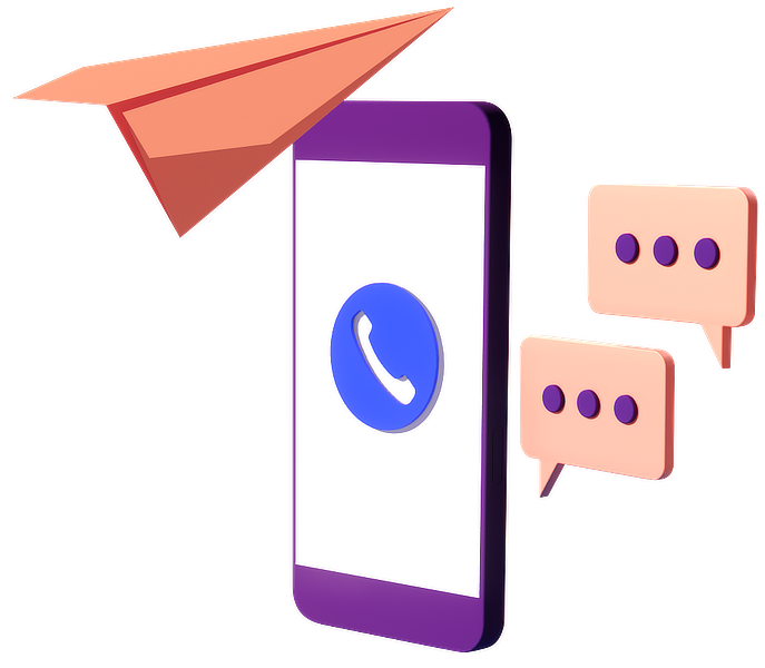 Phone sending messages